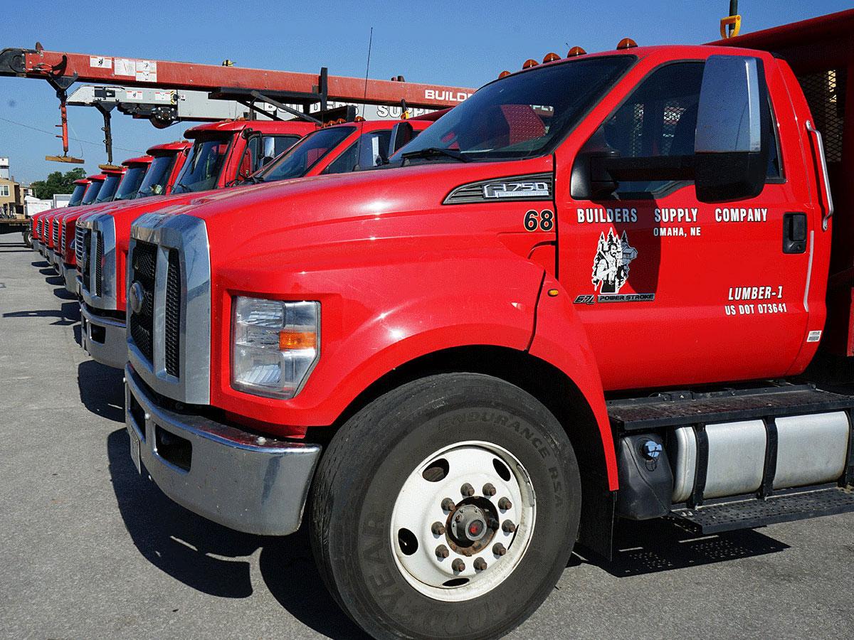 Builders Supply fleet