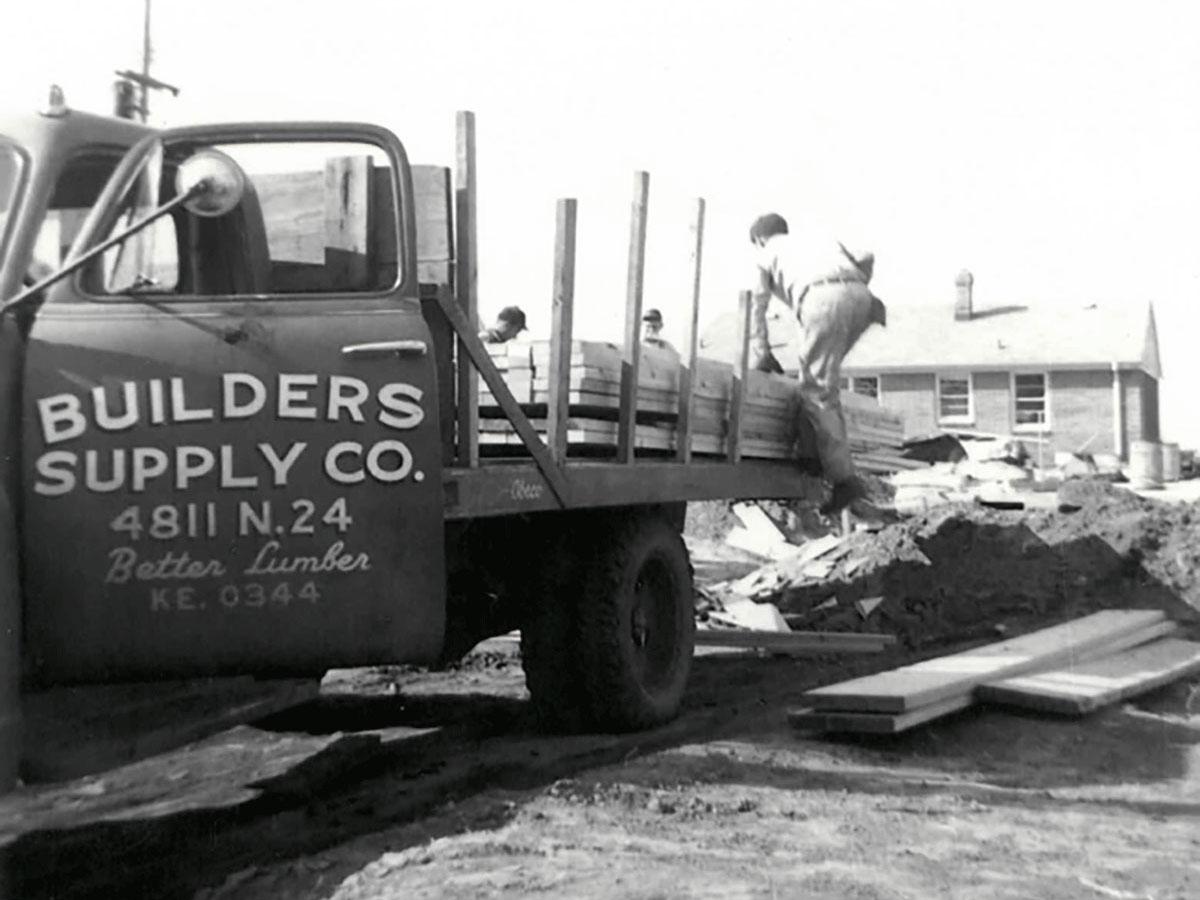 Original Builders Supply location