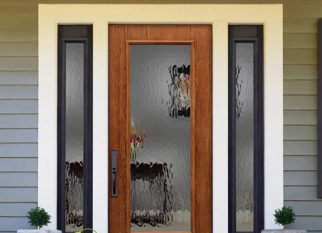 Perspective Textured Doorglass